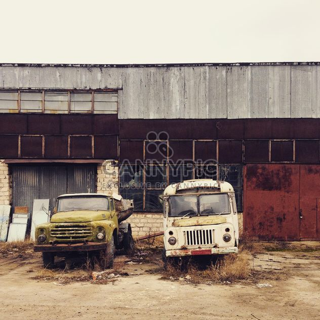 Old Russian trucks - Free image #332155