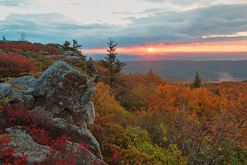 Autumn Dolly Sods Sunrise - HDR - image gratuit #332755