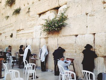 The Western (Wailing) Wall - image gratuit #332865