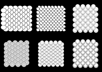 Free Fish Scale Vector Pattern - Kostenloses vector #333345