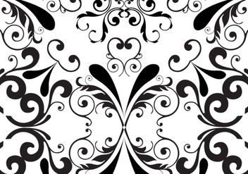 Seamless floral pattern background - Free vector #333445
