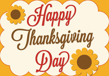 Thanksgiving Background Illustration - Free vector #333495
