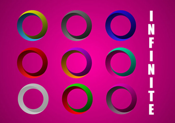 Free Infinite Circle Vector - vector gratuit #333515