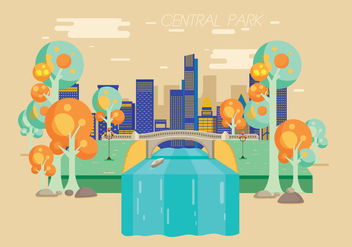 Central Park Vector - Free vector #333885