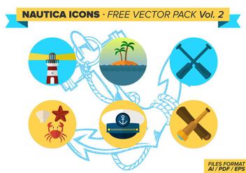 Nautica Icons Free Vector Pack Vol. 2 - Kostenloses vector #333995