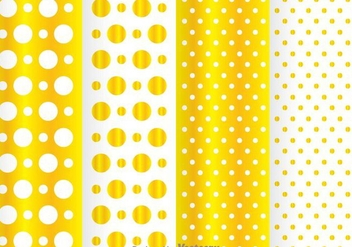 Golden Dot Pattern - Free vector #334075