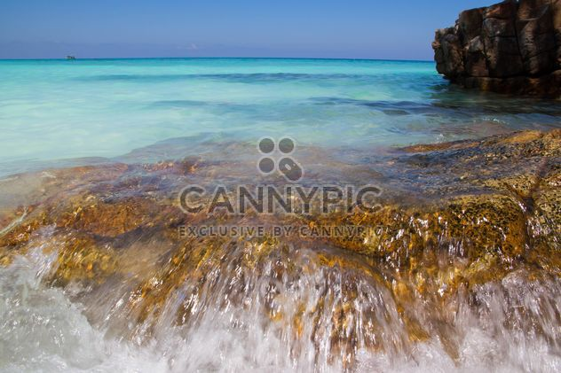 A high-dynamic look to this rocky sea shore - Free image #334245