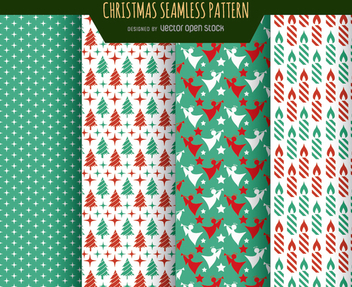 Christmas wallpaper textures - бесплатный vector #334335
