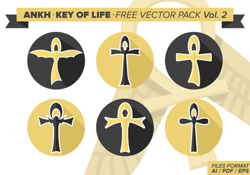 Ankh Key Of Life Free Vector Pack Vol. 2 - Kostenloses vector #334565