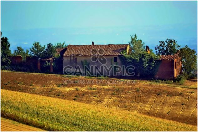 View on Monferrato village in Piemonte - Free image #334765