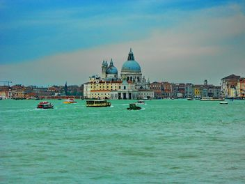 Boats on Venice channel - Free image #334995
