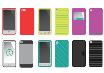 Phone Case Vector - Free vector #335305