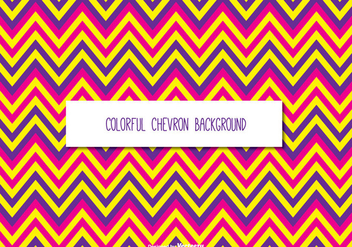 Colorful Chevron Background - Free vector #335415