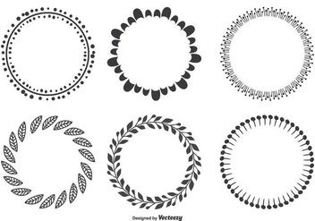 Decorative Frame Set - Free vector #335505