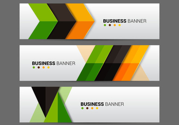Free Business Banner Vector - Free vector #336085