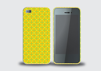 Phone Case Vector - vector gratuit #336205