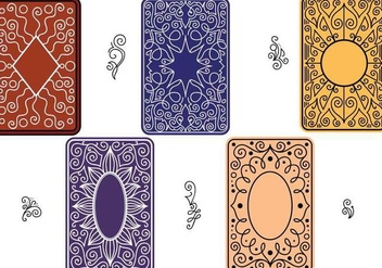 Free Playing Cards Vectors - vector gratuit #336215