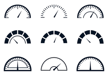 Fuel Gauge Meter - vector #336695 gratis