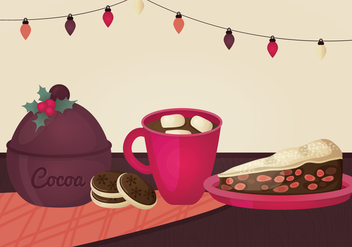 Christmas Food Vector Illustration - vector #336775 gratis
