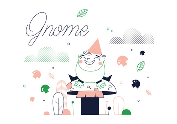 Free Gnome Vector - Free vector #337075