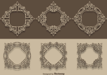 Vector Scrollwork Collection - vector #337155 gratis