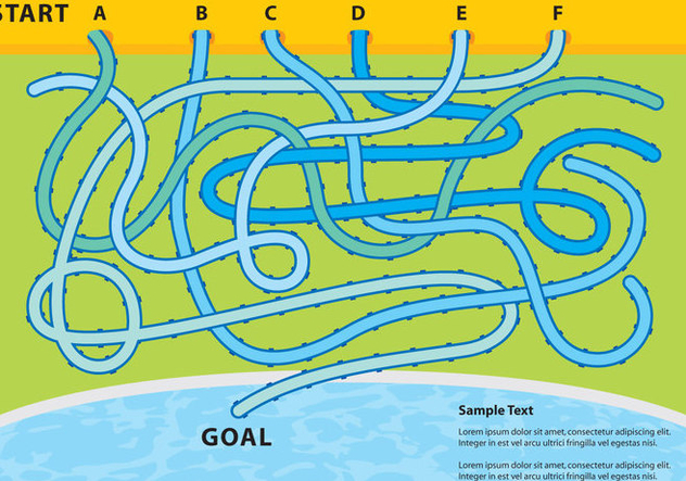 Water Slide Game - Free vector #337295