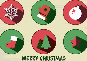 Free Christmas Icons Vector - Kostenloses vector #337315