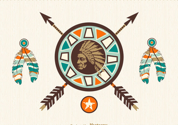 Free Native American Vector Design - Free vector #337595