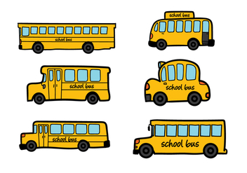 School Bus Vector - vector gratuit #337735