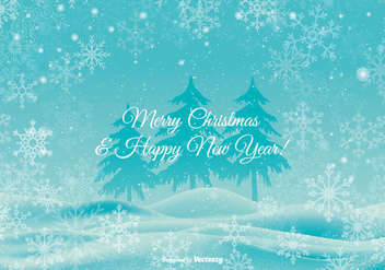Beautiful Christmas Background Illustration - vector gratuit #337975