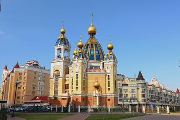 Orthodox Church in Obolon district - бесплатный image #338235