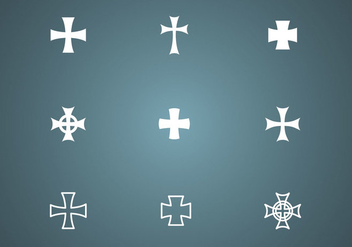 Free Crosses Vector - Free vector #338635