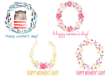 Women's Day - vector #338645 gratis