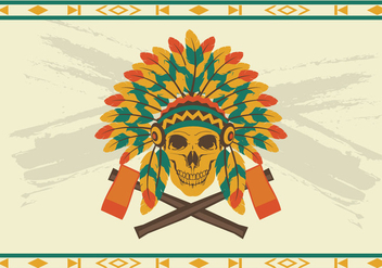 Indian Headdress Vector - Kostenloses vector #338755