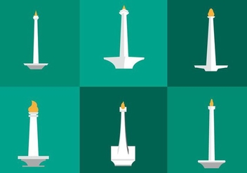 Monas Vector Icons - бесплатный vector #338835