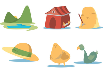 Early Bird Vector Set - бесплатный vector #339265