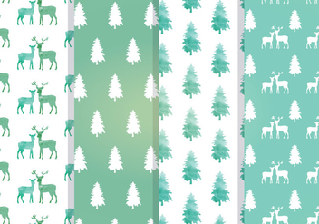 Vector Seamless Patterns - Kostenloses vector #339375