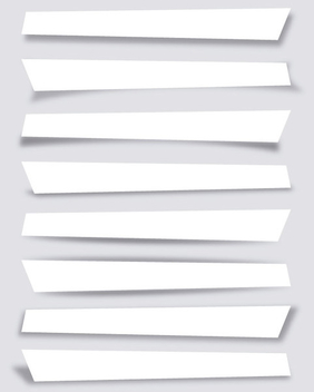 Collection of Box Shadows - Free vector #339925
