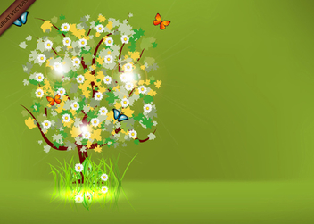 Spring Tree Free Vector - Free vector #339995