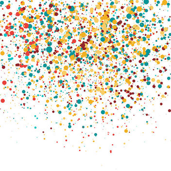 Colorful Confetti - vector gratuit #340115