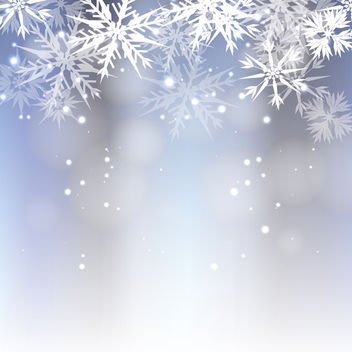 Frosty Vector Background - vector gratuit #340475
