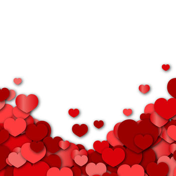 Valentines Day Background - vector gratuit #340505