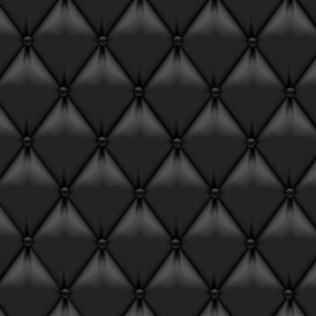 Black Leather Upholstery - vector gratuit #340515