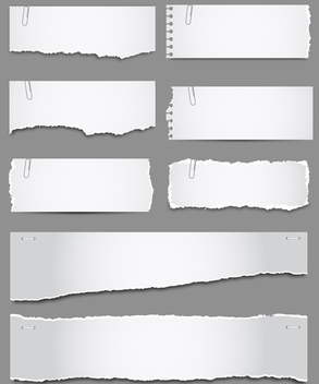Torn Paper - Free vector #340535