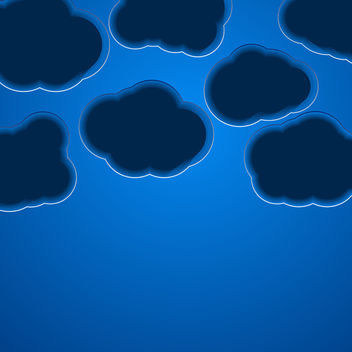 Cloud Background - vector gratuit #340545
