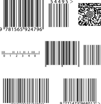 Bar & Qr Code Pack - vector gratuit #340955
