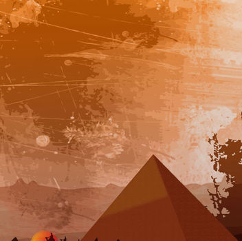 Egyptian Heritage Background - бесплатный vector #341075