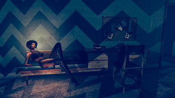 The girl, the chair and office - бесплатный image #341235