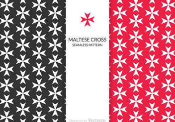 Free Maltese Cross Vector Pattern - vector #341375 gratis