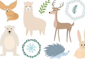 Free Animals Vectors - бесплатный vector #341875